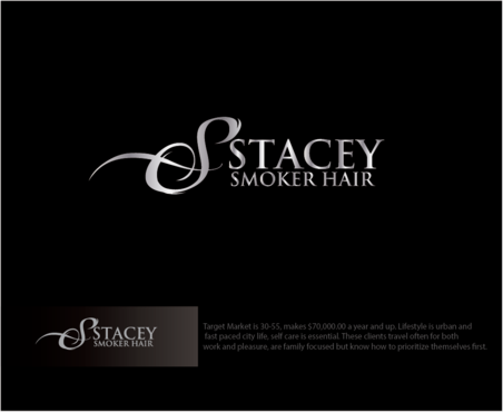 """Stacey Smoker Hair"" or ""S2"" (like S^2, S to the 2nd power, S squared speaks to the SS in my name) A Logo, Monogram, or Icon  Draft # 34 by logoGamerz"