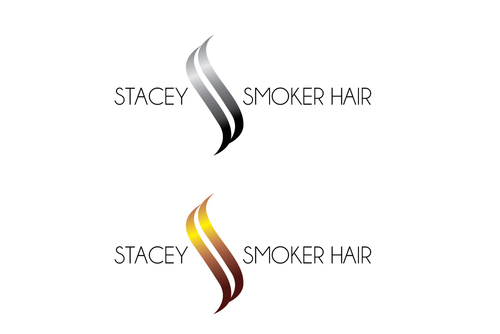 """Stacey Smoker Hair"" or ""S2"" (like S^2, S to the 2nd power, S squared speaks to the SS in my name) A Logo, Monogram, or Icon  Draft # 38 by TheTanveer"