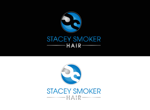 """Stacey Smoker Hair"" or ""S2"" (like S^2, S to the 2nd power, S squared speaks to the SS in my name) A Logo, Monogram, or Icon  Draft # 52 by zameen"