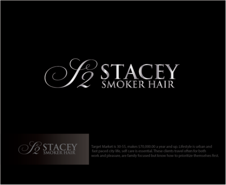 """Stacey Smoker Hair"" or ""S2"" (like S^2, S to the 2nd power, S squared speaks to the SS in my name) A Logo, Monogram, or Icon  Draft # 62 by logoGamerz"