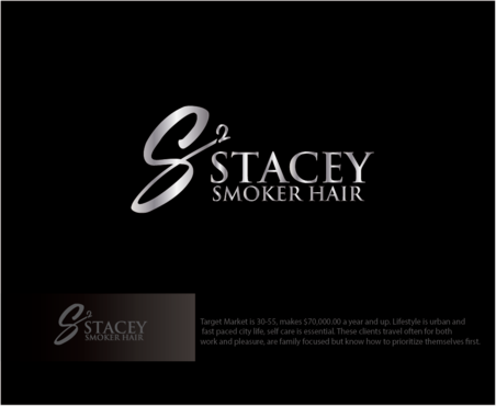 """Stacey Smoker Hair"" or ""S2"" (like S^2, S to the 2nd power, S squared speaks to the SS in my name) A Logo, Monogram, or Icon  Draft # 63 by logoGamerz"