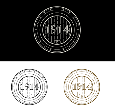 Cellar 1914 A Logo, Monogram, or Icon  Draft # 119 by FiddlinNita