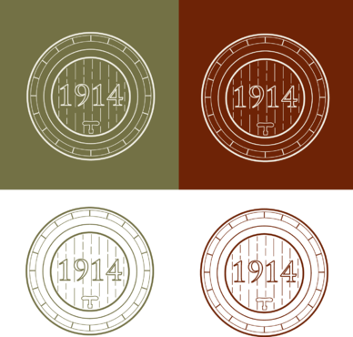Cellar 1914 A Logo, Monogram, or Icon  Draft # 120 by FiddlinNita
