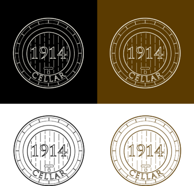 Cellar 1914 A Logo, Monogram, or Icon  Draft # 122 by FiddlinNita