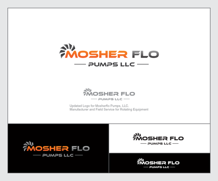 Mosherflo Pumps, LLC. A Logo, Monogram, or Icon  Draft # 24 by emzbeautyart