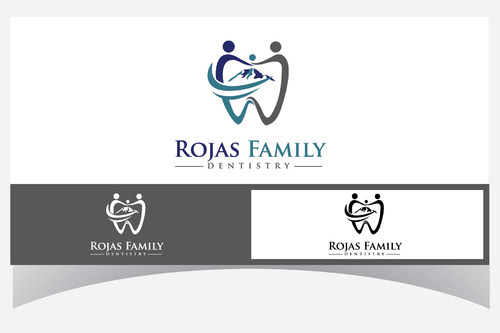 Rojas Family Dentistry A Logo, Monogram, or Icon  Draft # 180 by Designpassion