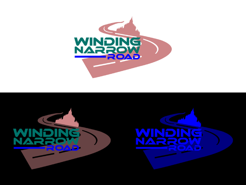 Winding Narrow Road A Logo, Monogram, or Icon  Draft # 61 by AstridDesign