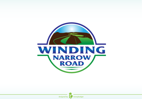 Winding Narrow Road A Logo, Monogram, or Icon  Draft # 97 by honeybadger
