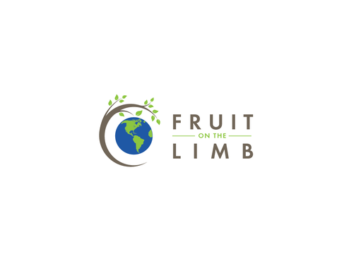 Fruit On the Limb A Logo, Monogram, or Icon  Draft # 68 by Harni
