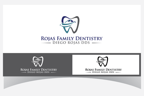 Rojas Family Dentistry Logo Winning Design by Designpassion