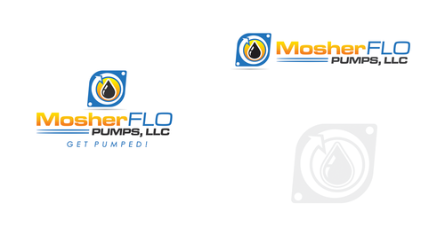 Mosherflo Pumps, LLC. A Logo, Monogram, or Icon  Draft # 26 by mnorth