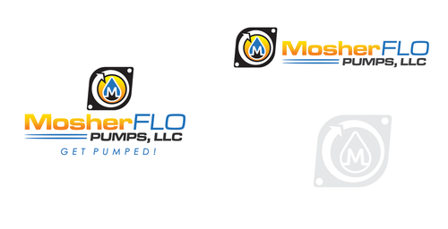 Mosherflo Pumps, LLC. A Logo, Monogram, or Icon  Draft # 27 by mnorth