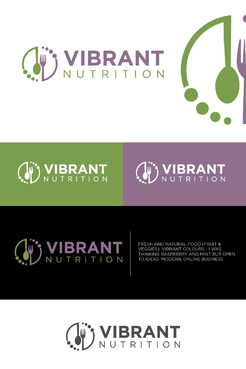 Vibrant Nutrition Logo Winning Design by xhyzer