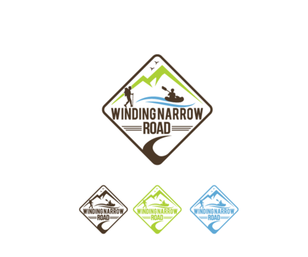 Winding Narrow Road A Logo, Monogram, or Icon  Draft # 112 by decentdesign