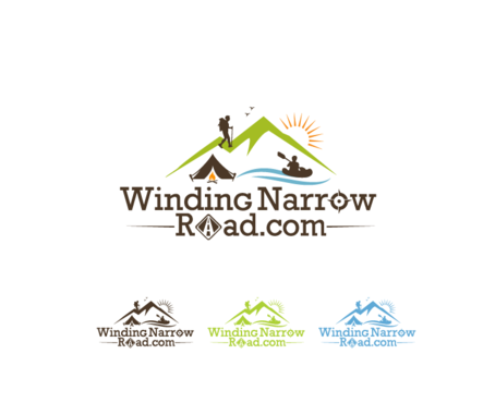 Winding Narrow Road A Logo, Monogram, or Icon  Draft # 114 by decentdesign