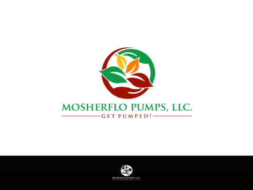 Mosherflo Pumps, LLC. A Logo, Monogram, or Icon  Draft # 28 by Designboss