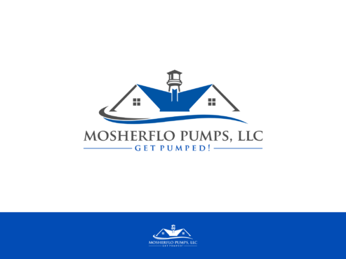 Mosherflo Pumps, LLC. A Logo, Monogram, or Icon  Draft # 37 by Designboss