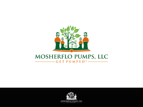 Mosherflo Pumps, LLC. A Logo, Monogram, or Icon  Draft # 38 by Designboss
