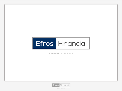 Efros Financial A Logo, Monogram, or Icon  Draft # 121 by Chlong2x