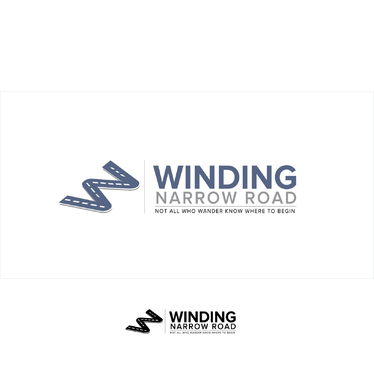 Winding Narrow Road A Logo, Monogram, or Icon  Draft # 146 by shivabomma