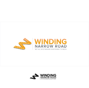 Winding Narrow Road A Logo, Monogram, or Icon  Draft # 147 by shivabomma