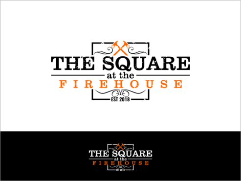 The Square at The Firehouse A Logo, Monogram, or Icon  Draft # 32 by thebullet
