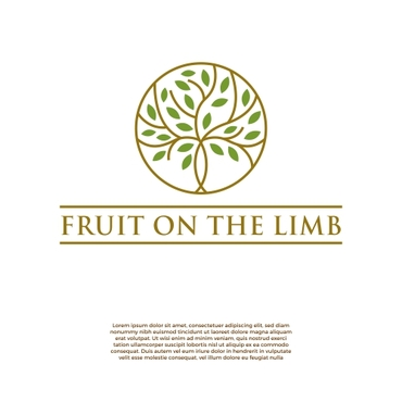 Fruit On the Limb A Logo, Monogram, or Icon  Draft # 179 by slaptheass