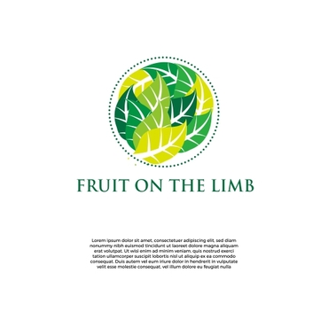 Fruit On the Limb A Logo, Monogram, or Icon  Draft # 180 by slaptheass