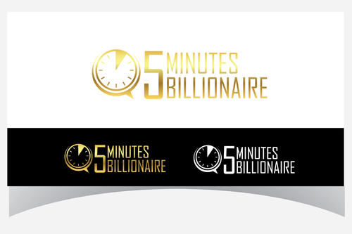 5 Minute Billionaire A Logo, Monogram, or Icon  Draft # 41 by Designpassion