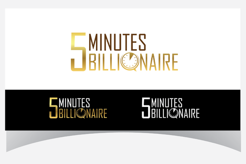 5 Minute Billionaire A Logo, Monogram, or Icon  Draft # 42 by Designpassion