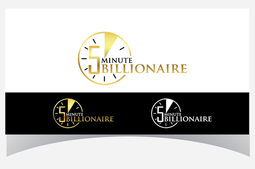 5 Minute Billionaire A Logo, Monogram, or Icon  Draft # 43 by Designpassion