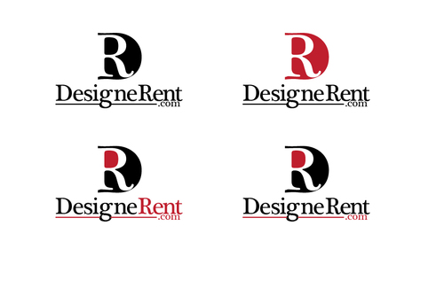DesigneRent.com         maybe use the D and R A Logo, Monogram, or Icon  Draft # 103 by TheTanveer