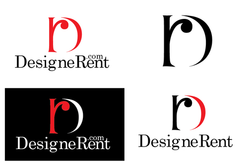 DesigneRent.com         maybe use the D and R A Logo, Monogram, or Icon  Draft # 107 by TheTanveer