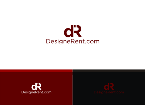 DesigneRent.com         maybe use the D and R A Logo, Monogram, or Icon  Draft # 135 by LFC1892