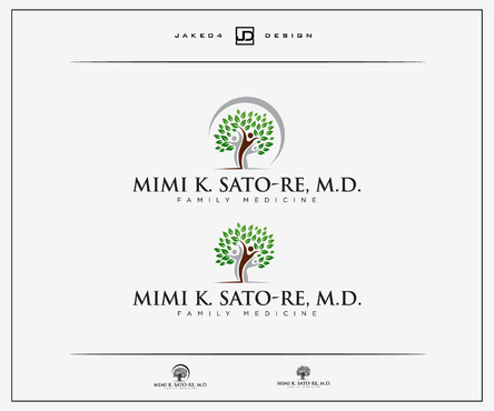 Mimi K. Sato-Re, M.D.  A Logo, Monogram, or Icon  Draft # 480 by Jake04