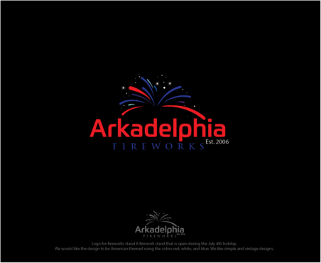 Arkadelphia Fireworks A Logo, Monogram, or Icon  Draft # 2 by logoGamerz