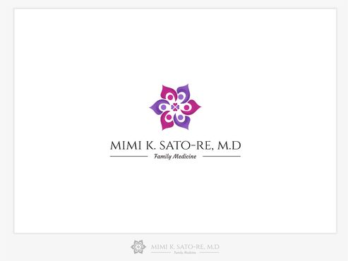 Mimi K. Sato-Re, M.D.  A Logo, Monogram, or Icon  Draft # 491 by iftahali