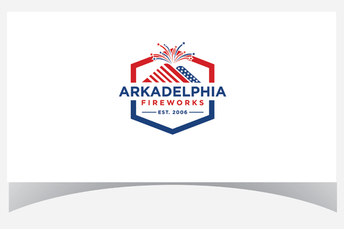 Arkadelphia Fireworks A Logo, Monogram, or Icon  Draft # 8 by Designpassion