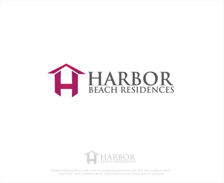 Harbor Beach Residences and/or HBR A Logo, Monogram, or Icon  Draft # 5 by logoGamerz