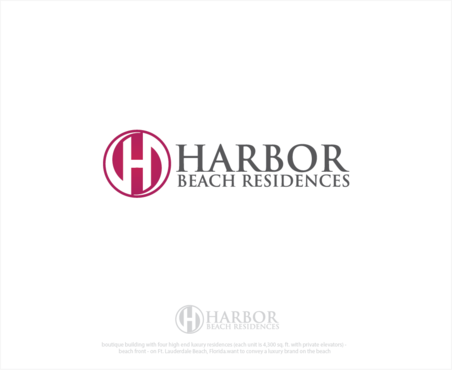 Harbor Beach Residences and/or HBR A Logo, Monogram, or Icon  Draft # 6 by logoGamerz