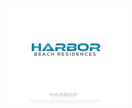 Harbor Beach Residences and/or HBR A Logo, Monogram, or Icon  Draft # 7 by logoGamerz