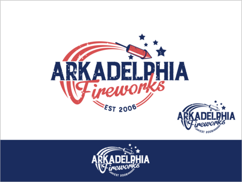 Arkadelphia Fireworks A Logo, Monogram, or Icon  Draft # 22 by thebullet