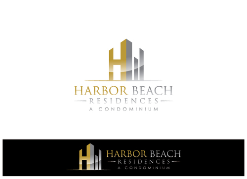 Harbor Beach Residences and/or HBR A Logo, Monogram, or Icon  Draft # 9 by xmanawaryx