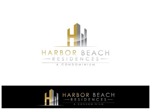 Harbor Beach Residences and/or HBR A Logo, Monogram, or Icon  Draft # 10 by xmanawaryx