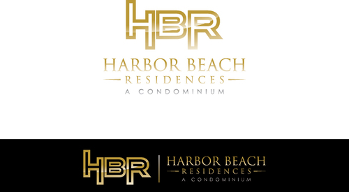 Harbor Beach Residences and/or HBR A Logo, Monogram, or Icon  Draft # 11 by xmanawaryx