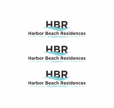 Harbor Beach Residences and/or HBR A Logo, Monogram, or Icon  Draft # 24 by dhira
