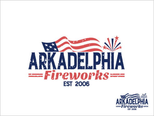 Arkadelphia Fireworks A Logo, Monogram, or Icon  Draft # 72 by thebullet