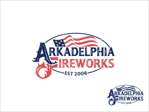 Arkadelphia Fireworks A Logo, Monogram, or Icon  Draft # 73 by thebullet