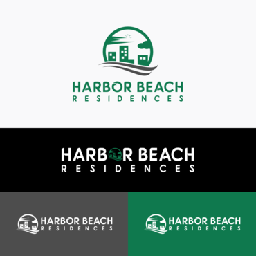 Harbor Beach Residences and/or HBR A Logo, Monogram, or Icon  Draft # 67 by vanilogos