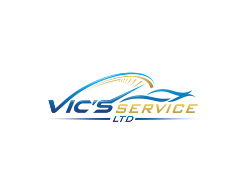 Vic's Service Ltd. Logo Winning Design by A78design